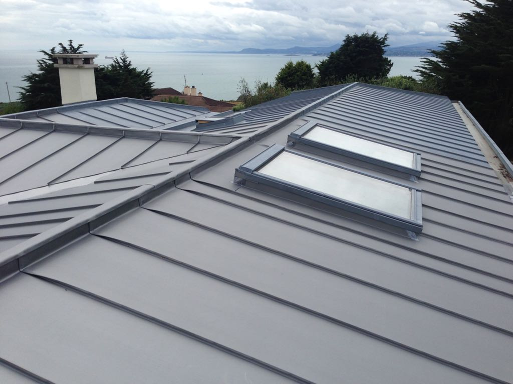 Zinc Roof refurb due to fire damage