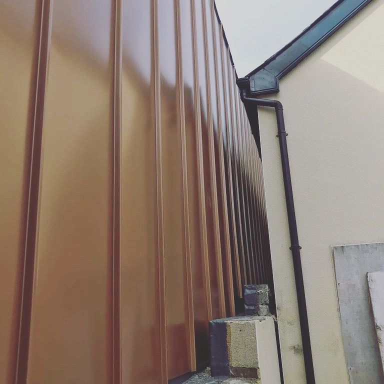 Copper Metallic PLX @ Malahide Road